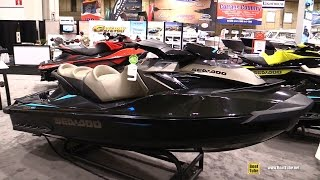 8. 2016 Sea Doo GTX Limited iS 260 Jet Ski - Walkaround - 2016 Toronto Boat Show