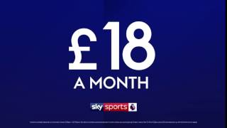 Introducing our new dedicated Premier League channel from £18 a month with new Sky Sports