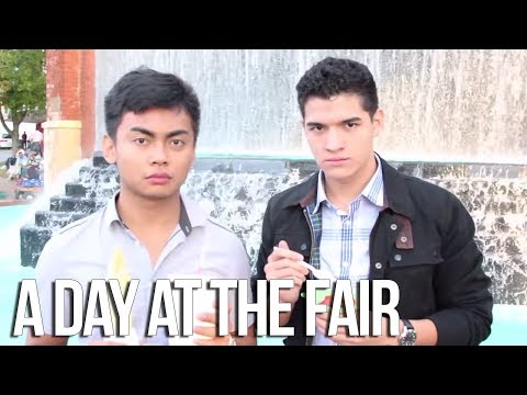 the state - Roi and Alex take a trip to the State Fair! Watch more behind the scenes and vlogs here: http://www.youtube.com/WassabiVlogs Follow us on Twitter: http://www...