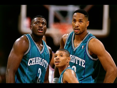 plays - In honor of the Charlotte Hornets returning check out the top 10 plays from the old school Charlotte Hornets! What do you think of those original uniforms? About the NBA: The NBA is the...