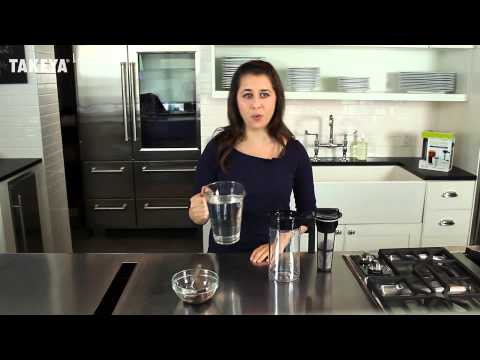 How To Make Great Tasting Cold Brew Coffee at Home (Takeya Cold Brew Coffee Maker)
