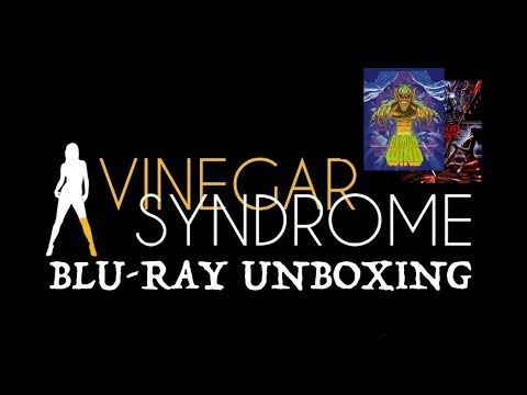 VINEGER SYNDROME NEW RELEASE BLU-RAY UNBOXING! DEMON WIND! BLOOD BEAT!