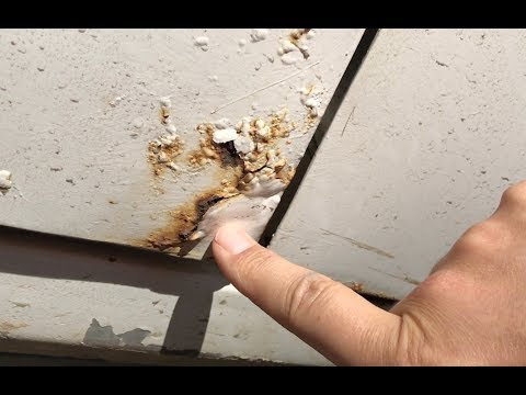 Low cost vehicle rust repair you can do at home!