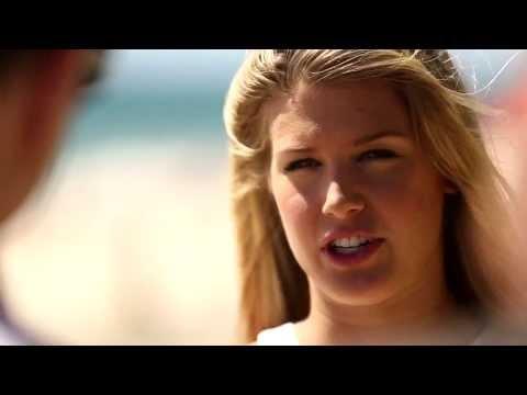 Eugenie Bouchard hits the beach - Hopman Cup 2014