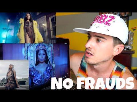 Nicki Minaj, Drake, Lil Wayne - No Frauds {REACTION VIDEO}