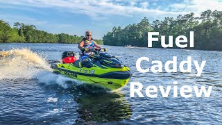 6. 2018 - 2019 Sea Doo RXT X 300 LinQ Fuel Caddy Review