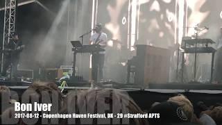Bon Iver - 2017-08-12 - Copenhagen Haven Festival, DK - 29 #Strafford APTS