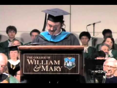 W&M commencement 2013: Braun's student speech