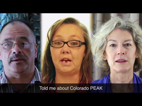 Colorado PEAK - Online Self Service Portal for Public Assistance Benefits