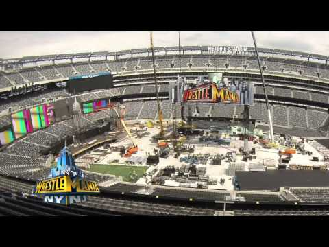 Creating the WrestleMania 29 set: WWE.com Exclusive, April 7, 2013