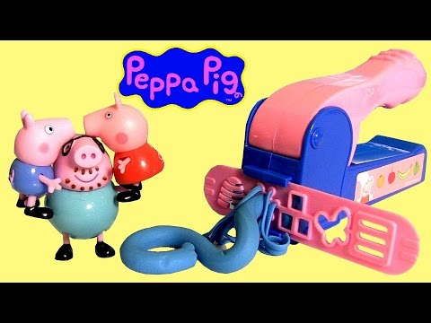 pig - Toychannel DisneyCollector presents Play Doh Peppa Pig Mega Dough Set. This great set allows children to get interactive without getting messy. Comes with 4 Dough packs, 12 Decorative molds,...