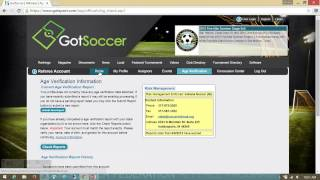made with ezvid, free download at http://ezvid.com Getting started video for GotSoccer for Indiana State Soccer Referees.
