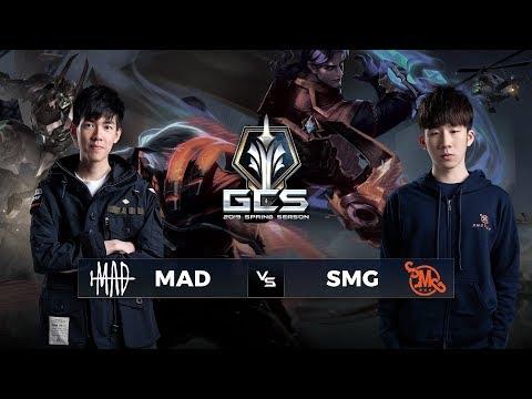 MAD vs SMG - Tuần 3 Ngày 3 - GCS Mùa Xuân 2019 - Thời lượng: 2:02:32.