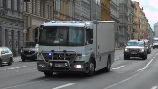 Download Lagu High-risk Money Transport escorted by Police in Prague! #659 Mp3