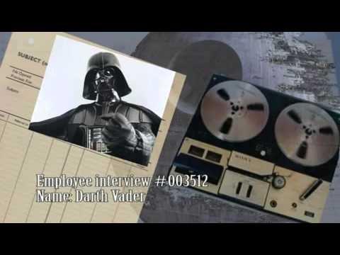 Darth Vader's employee evaluation