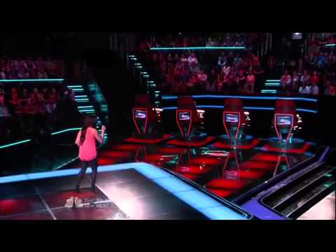 "Mayra Alvarez ""Human Nature"" The Voice USA Season 7 Episode 5"