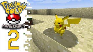 Pixelmon GOLD! (Pokemon Minecraft Mod) - EP02 - JohnFlint