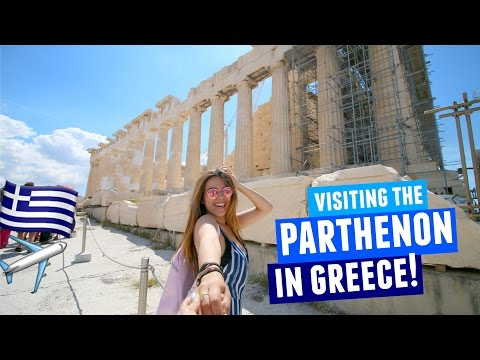 VISITING THE PARTHENON IN GREECE 2017  Athens Day 2!
