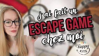 Faire son Escape Game chez soi ! [Escape Home]