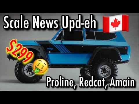 Scale News Update - Proline, Redcat, Amain - Episode 48
