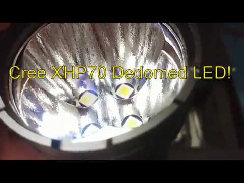 Imalent DT70 Flashlight Review.