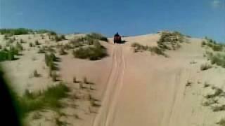 Bridport Australia  city photos : Suzuki King Quad 750AXi - The Dipper Bridport sand dunes Tasmania Australia.