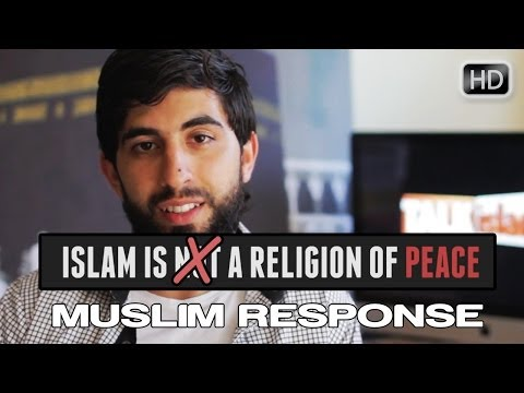 Islam Is Not A Religion Of Peace? ᴴᴰ ┇ Muslim Response ┇ by Kamal Saleh