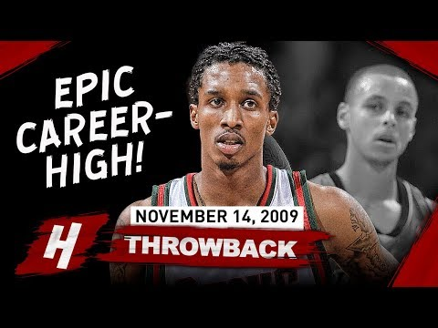 Brandon Jennings EPIC Career-HIGH Full Highlights vs Warriors 2009.11.14 - 55 Pts in front of Curry!