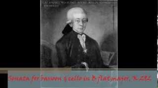 Download Lagu W. A. Mozart - KV 292 (196c) - Sonata for bassoon & cello in B flat major Mp3
