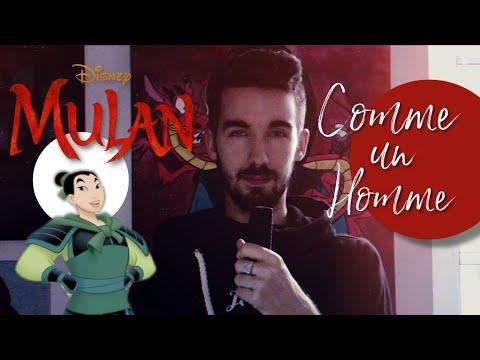 Comme un homme cover - Mulan disney - Geof'