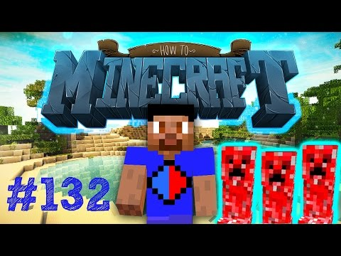Minecraft SMP: HOW TO MINECRAFT #132 'SUPERCHARGED CREEPERS!' with Vikkstar