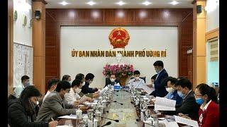 Thành phố Uông Bí làm việc với các đơn vị ngành điện, than, xi măng trên địa bàn