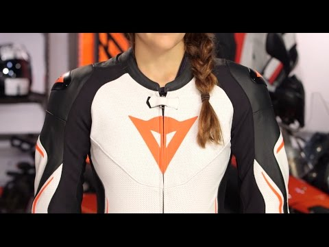 Dainese Assen Perforated Women's  Race Suit Review at RevZilla.com