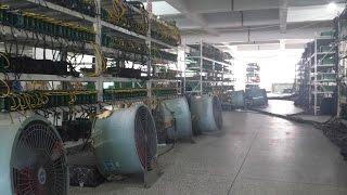 Bitcoin фермы Китая: взгляд изнутри