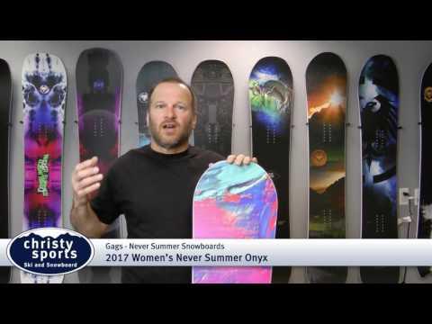 2017 Never Summer Onyx