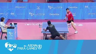 Video Table Tennis: Men's Team - Dian David Mickael Jacobs vs Bui Quy Thu | 8th ASEAN Para Games 2015 MP3, 3GP, MP4, WEBM, AVI, FLV Oktober 2018