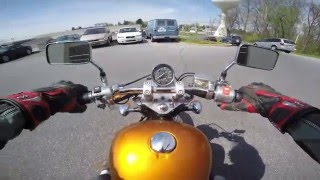 3. 2005 Honda Shadow VLX 600 test drive review