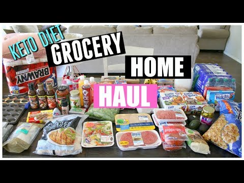 WALMART & FRY'S HAUL | KETO GROCERIES AND HOME DECOR