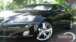 LEXUS IS 350 2009 TEST DRIVE AUTOMOCION TV