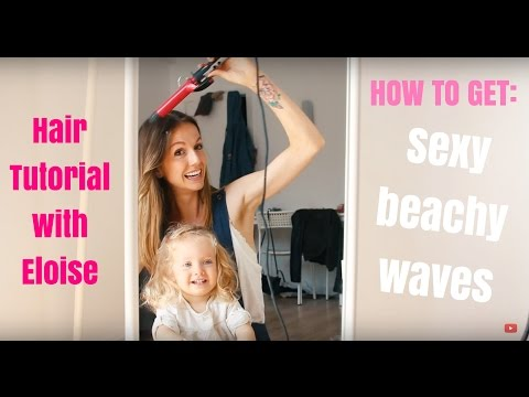 How to Get Sexy Beachy Waves - Hair Tutorial