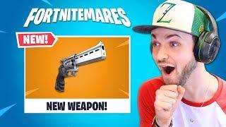 Fortnite's getting a NEW gun...