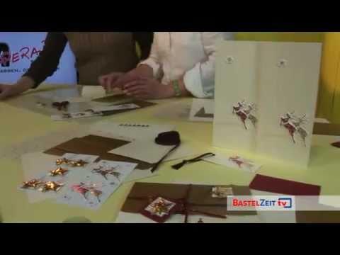Bastelzeit TV 24 - 3D Weihnachts- und Menükarten von Paperado