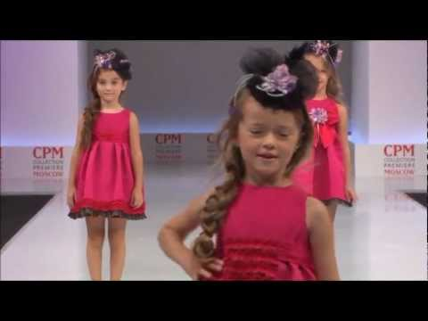 catwalk - This Catwalk has been organized by the European Association, Children's Fashion Europe. At the occasion of the international fashion fair CPM, the russian ca...