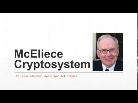 ESTR1004 - McEliece Cryptosystem