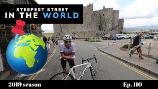 Video BIKE RACING up the STEEPEST STREET in the WORLD | Harlech, Wales! MP3, 3GP, MP4, WEBM, AVI, FLV Agustus 2019