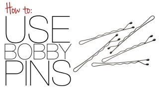 How To: Use Bobby Pins - YouTube