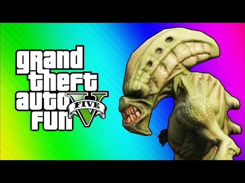GTA 5 Online Funny Moments – Tow Truck Tornado Glitch & Aliens (GTA 5 Fun Jobs)