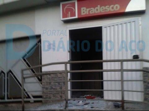 Pela quarta vez, agência bancária é explodida em Jaguaraçu