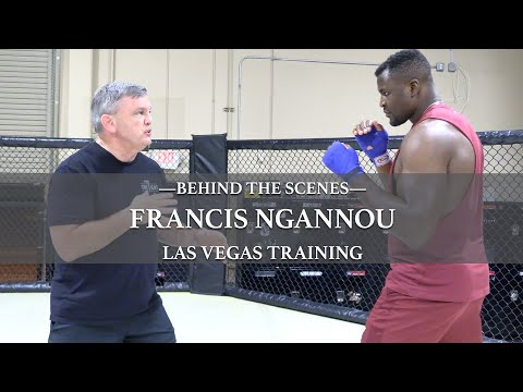 Teddy Atlas Trains Francis Ngannou - Behind The Scenes Look   THE FIGHT with Teddy Atlas