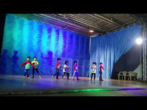 Ravada Kowshik Prekg Medley Group Dance@childrens Day 2017